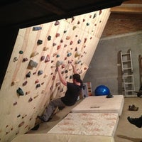 Photo taken at Caminha's Climbing Wall by João Caio T. on 2/26/2013
