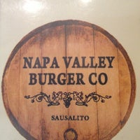 Photo taken at Napa Valley Burger by Stef N. on 1/31/2013