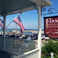 Photo taken at Finns Seafood Restaurant by Kimberley C. on 7/27/2013