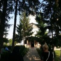 Photo taken at Manastirea Tiganesti by Soraya a. on 8/24/2013