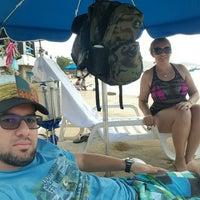 Photo taken at Playa La Galera by Luis Angel G. on 11/28/2015