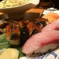 Photo taken at Naruto Uo Ichiba Izakaya 鳴門魚市場居酒屋 by Cherry M. on 8/28/2014