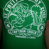 Photo taken at Captain Chuck's Sandbar & Grill by Adrienne P. on 3/17/2013