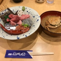 Photo taken at 沼津 魚がし鮨 沼津港店 by ほねっこ on 9/3/2017
