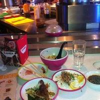 Photo taken at YO! Sushi by Pandu K. on 12/23/2012