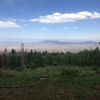 Photo taken at Sandia Mountians by Nick C. on 6/16/2014