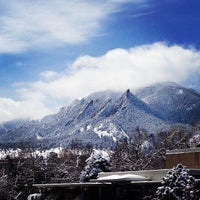 Photo taken at Boulder Public Library by Drew F. on 4/10/2013