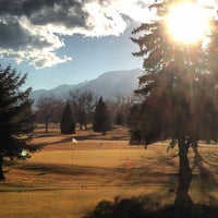 Photo taken at Flatirons Golf Course by Drew F. on 1/28/2013
