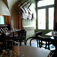 Photo taken at Kleines Café by Mara N. on 3/18/2013