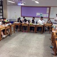 Photo taken at 臺北市立南港高級中學(附設國中部)Taipei Municipal NanGang High School by James W. on 11/16/2016