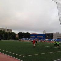 Photo taken at Стадион УрФУ by Lara A. on 7/31/2014