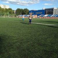 Photo taken at Стадион УрФУ by Lara A. on 7/29/2014