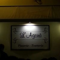 Photo taken at L'Agora Pizzaria - Trattoria by Gianni A. on 8/15/2013
