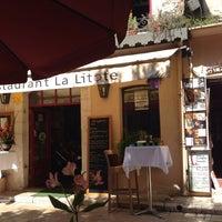 Photo taken at La Litote by Irina M. on 8/16/2014