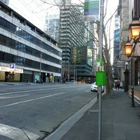 Photo taken at Tram Stop 3 (55) by Melissa on 7/7/2013