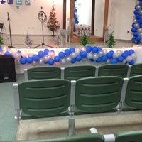 Photo taken at Auditorio Parroquia Santísima Trinidad by Larissa R. on 12/12/2013