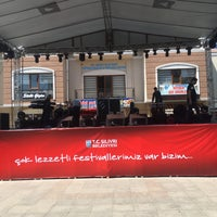 Photo taken at Ortaköy Meydanı by Mustafa Z. on 4/29/2018