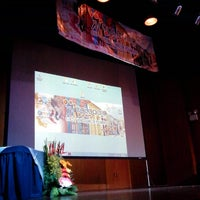 Photo taken at Aula Magna de la URU by Carlos Daniel M. on 7/16/2013