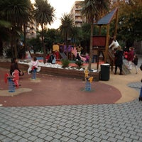 Photo taken at Parque infantil Praza Independencia by Raul D. on 11/17/2013