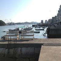 Photo taken at 尾道港 by ちーちゃん on 8/1/2018