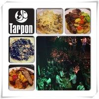 Photo taken at Tarpon Restaurant Night Bar by Marvino B. on 3/30/2013