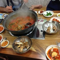 Photo taken at 수다감자탕 by BEEJAY Y. on 6/1/2013