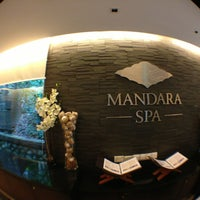Photo taken at Mandara Spa @ Sunway Resort Hotel by BEEJAY Y. on 3/18/2013