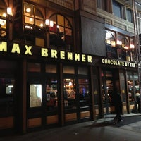 Photo taken at Max Brenner by Akdeniz A. on 3/29/2013