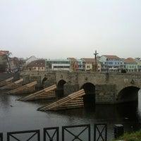 Photo taken at Stone bridge by Tomáš M. on 11/18/2012