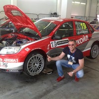 Photo taken at Lukoil Racing Team home of Kazanring by Александр С. on 7/14/2013