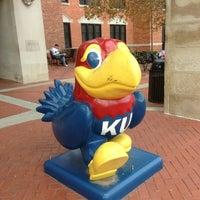 Photo taken at The University of Kansas by Ben H. on 10/24/2012