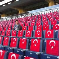 Das Foto wurde bei Ülker Stadyumu Fenerbahçe Şükrü Saracoğlu Spor Kompleksi von Rahim S. am 10/15/2013 aufgenommen