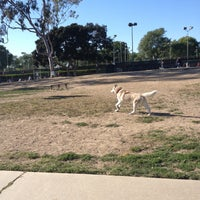Photo taken at Costa Mesa Bark Park by Sophia C. on 4/17/2013