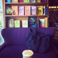 Photo taken at Upstart Crow Bookstore & Coffee House by Stephanie S. on 8/7/2014