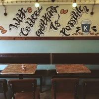 5/6/2018 tarihinde Banu H.ziyaretçi tarafından Kropka Coffee&Bakery'de çekilen fotoğraf