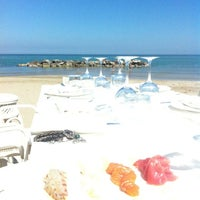 Photo taken at Riviera Mare Ristorante by Beatrice P. on 4/14/2013
