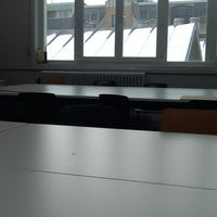Photo taken at AP Hogeschool - Campus Mutsaardstraat by Chiara V. on 3/13/2013