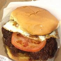 Photo taken at Custom Burgers by Pat La Frieda by Benjamin P. on 4/1/2013
