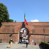 Photo taken at Fortezza da Basso by Brigitta S. on 6/27/2013
