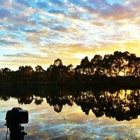 Photo taken at Whites Road Wetlands by Lukasz B. on 8/7/2013