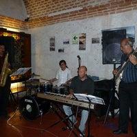 Photo taken at Cafe Bar Senor Misti by Rene B. on 4/12/2013