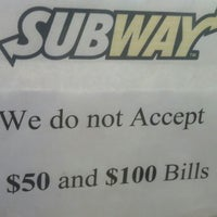 Photo taken at Subway by William G. on 4/17/2013