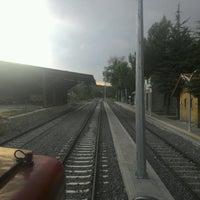 Photo taken at Büyükoturak İstasyonu by Runo E. on 9/10/2016