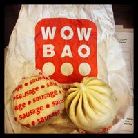 Photo taken at Wow Bao by Seth M. on 9/25/2013