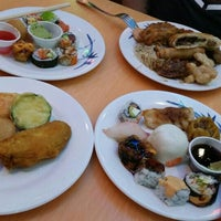 Photo taken at Asian Buffet Sushi And Grill by Napapach K. on 4/30/2015