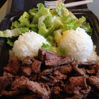 Photo taken at Blazin' Steaks by Elisa V. on 7/15/2014