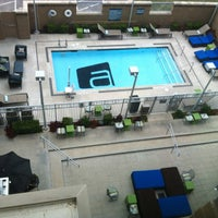 Photo taken at Aloft Austin at The Domain by Omar D. on 5/19/2013