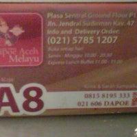 Photo taken at Dapoe Aceh Melayu by Rio S. on 1/4/2013