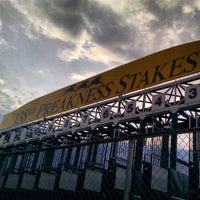 Photo taken at Pimlico Race Course by Jon S. on 5/18/2013