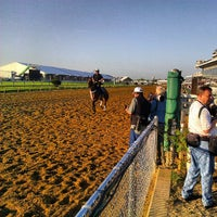 Photo taken at Pimlico Race Course by Jon S. on 5/17/2013